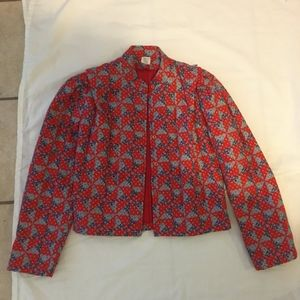 Quilted Pattern Jacket